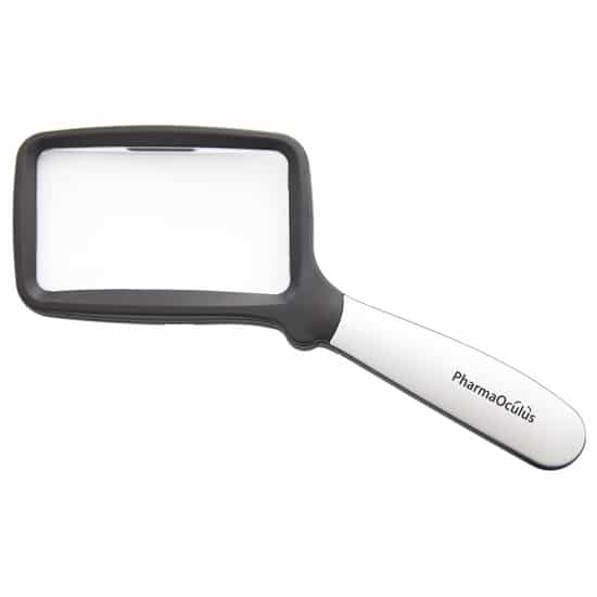 Förstoringsglas | Läsförstoringsglas | LED-belysning | Ergonomiskt handtag