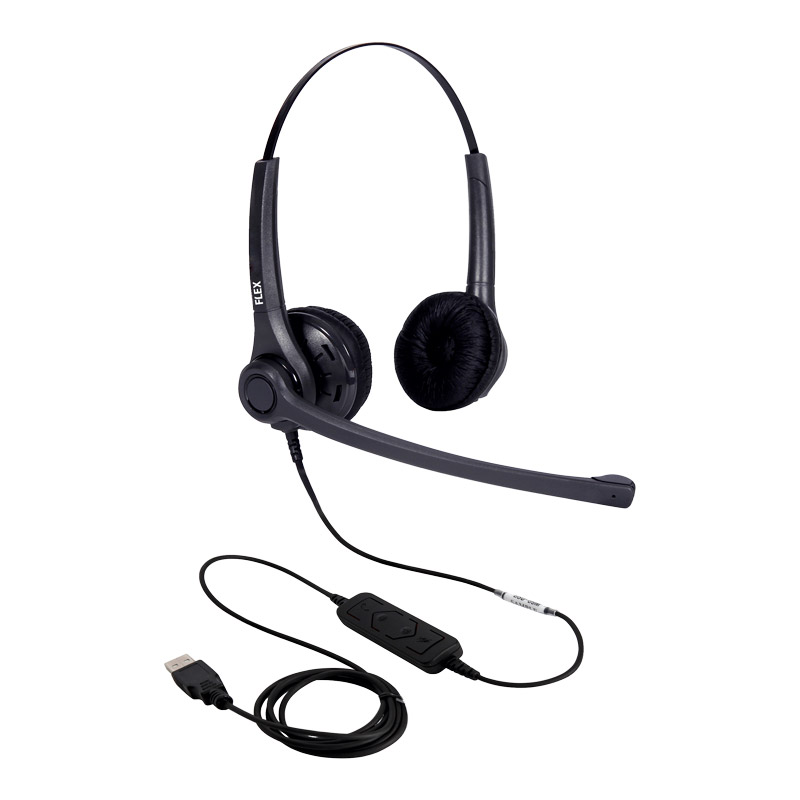 USB-headset | FLEX link USB duo